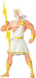 Zeus er den største og mægtigste af de græske guder.